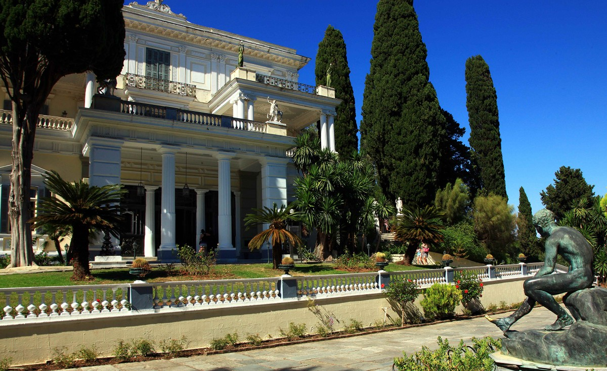 Zdjęcia: Gastouri, Korfu, Achilleion, pałac Cesarzowej Sissi, GRECJA