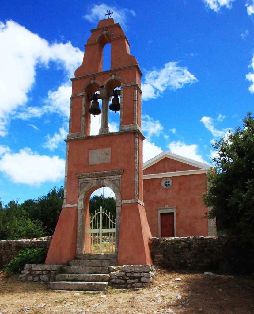 Zdjęcia: Perithia, Korfu, Stary kościół, GRECJA