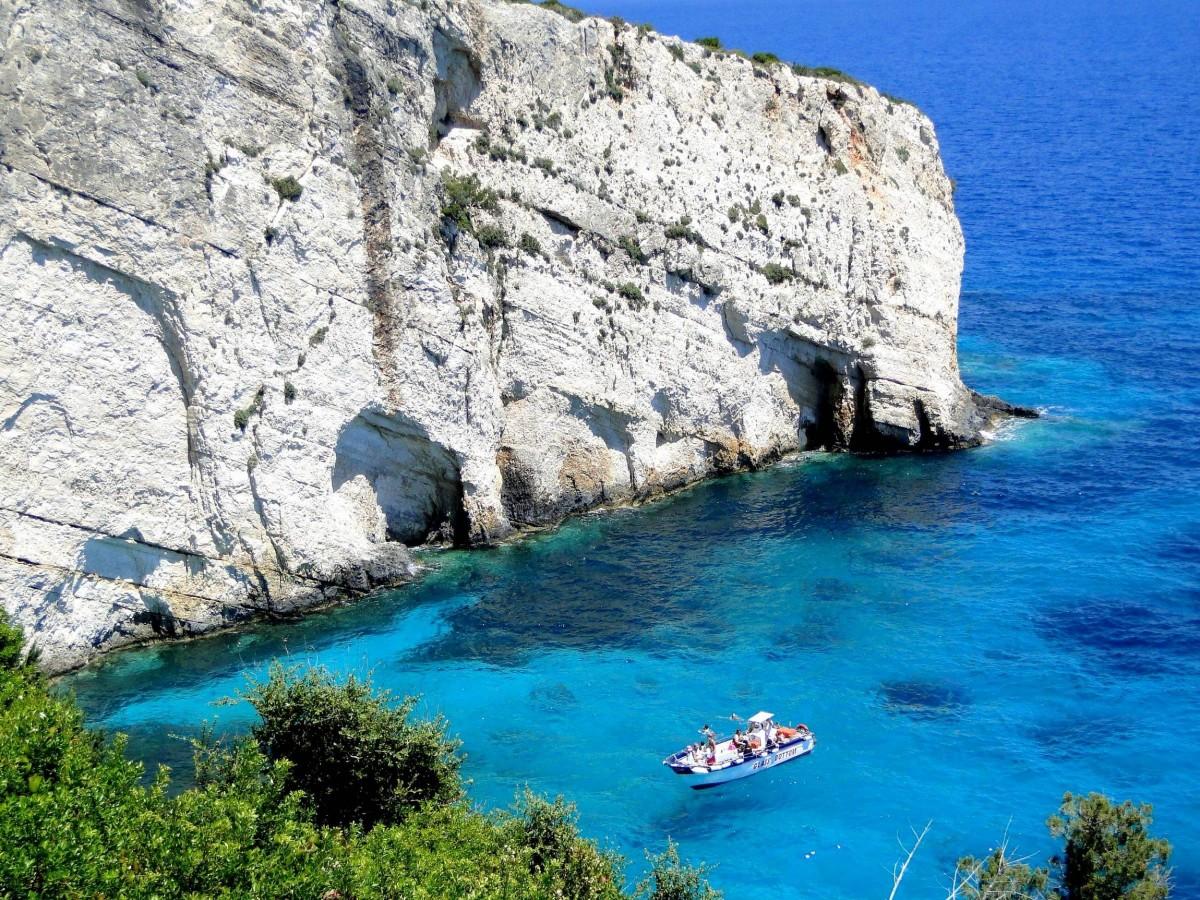 Zdjęcia: u wybrzeży Zakynthos, Zakynthos, Z serii: wspomnienia z Grecji - Zakynthos, GRECJA