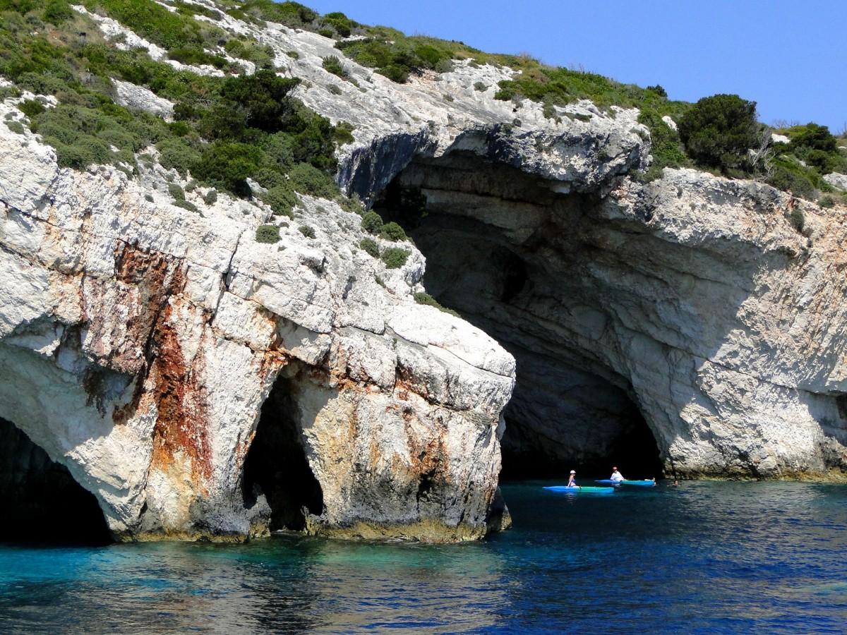 Zdjęcia: Błękitne Groty, Zakynthos, Z serii: wspomnienia z Grecji - Zakynthos, GRECJA