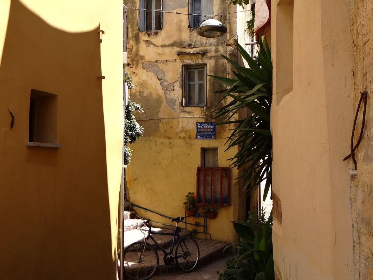 Zdjęcia: Chania, Kreta, Migawki z Krety - stare miasto Chania, GRECJA
