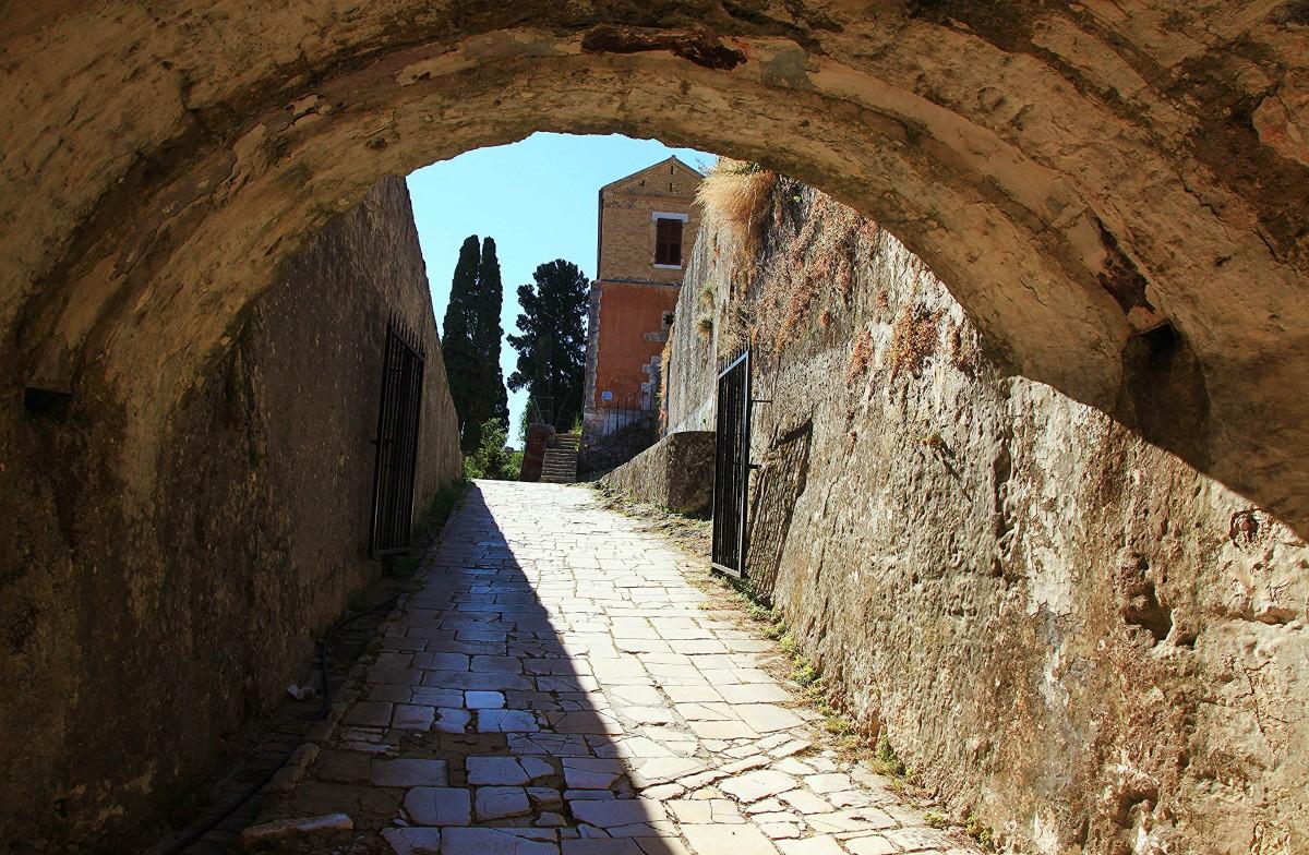 Zdjęcia: Stara Forteca , Korfu, Spacer po twierdzy, GRECJA
