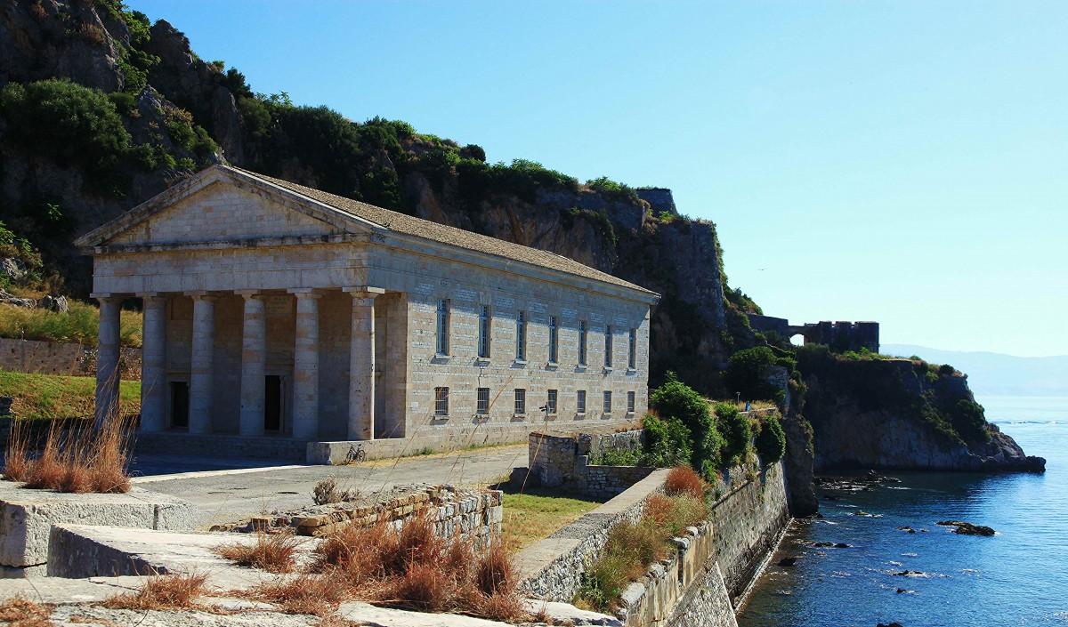 Zdjęcia: Stara Forteca , Korfu, Kościół św. Jerzego, GRECJA