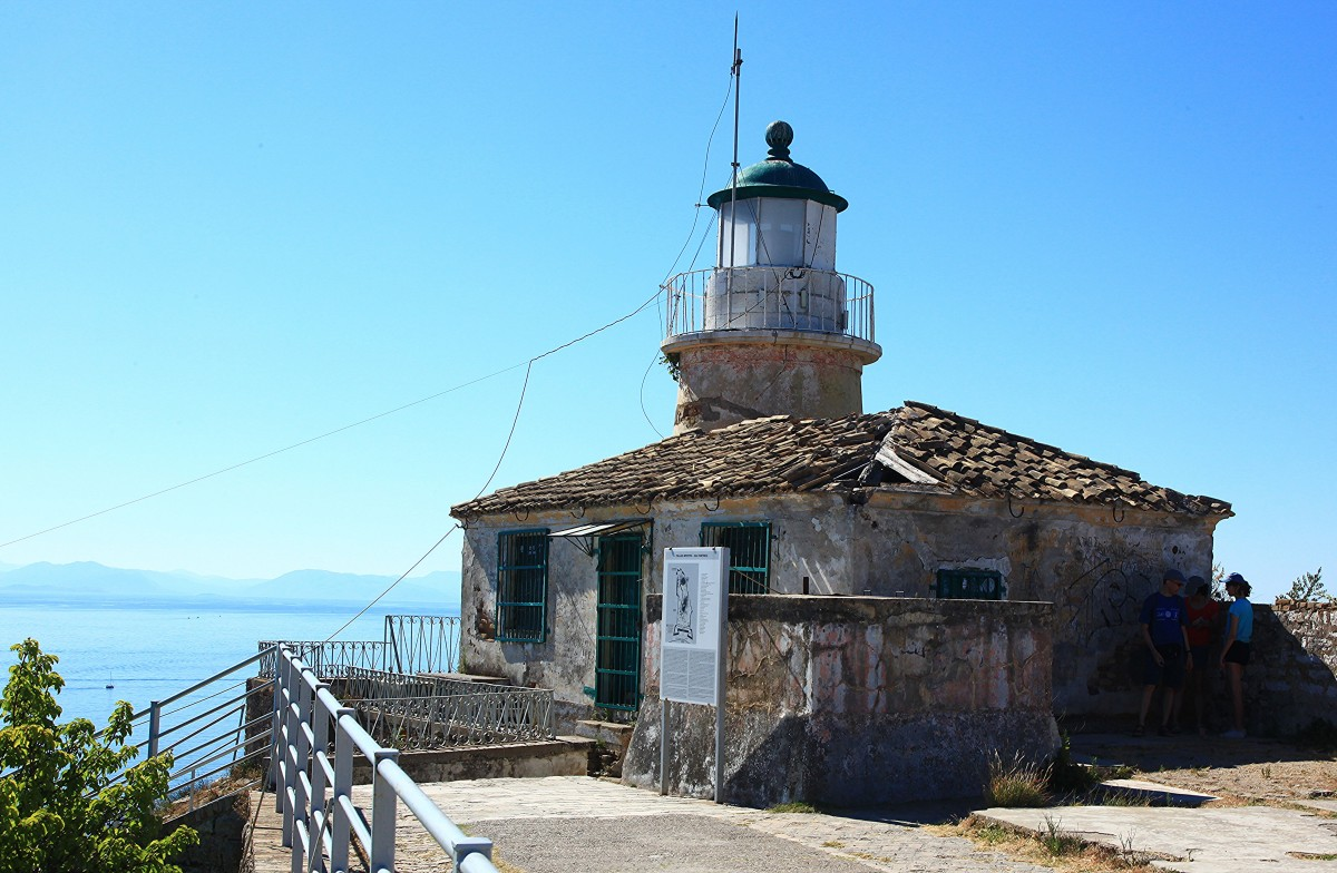 Zdjęcia: Stara Forteca , Korfu, Latarenka, czyli latarnia z bliska, GRECJA