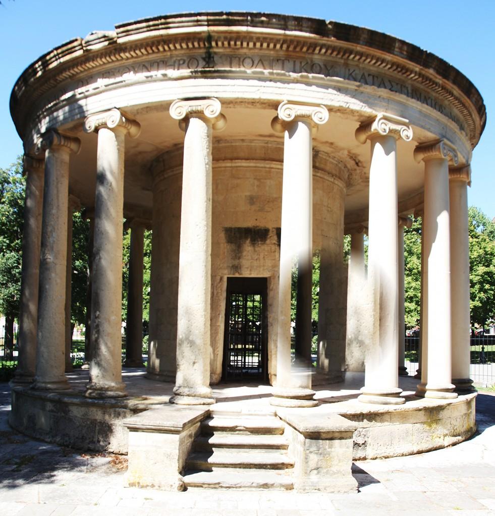 Zdjęcia: Okolice Starej Fortecy , Korfu, Monument pamięci Maitlanda, GRECJA