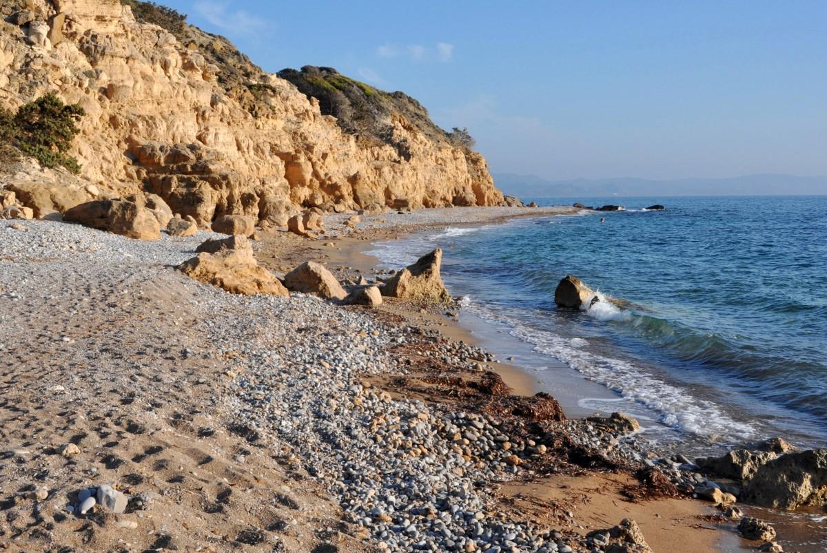 Zdjęcia: zachodnie wybrzeże, Rodos, Wybrzeże, GRECJA