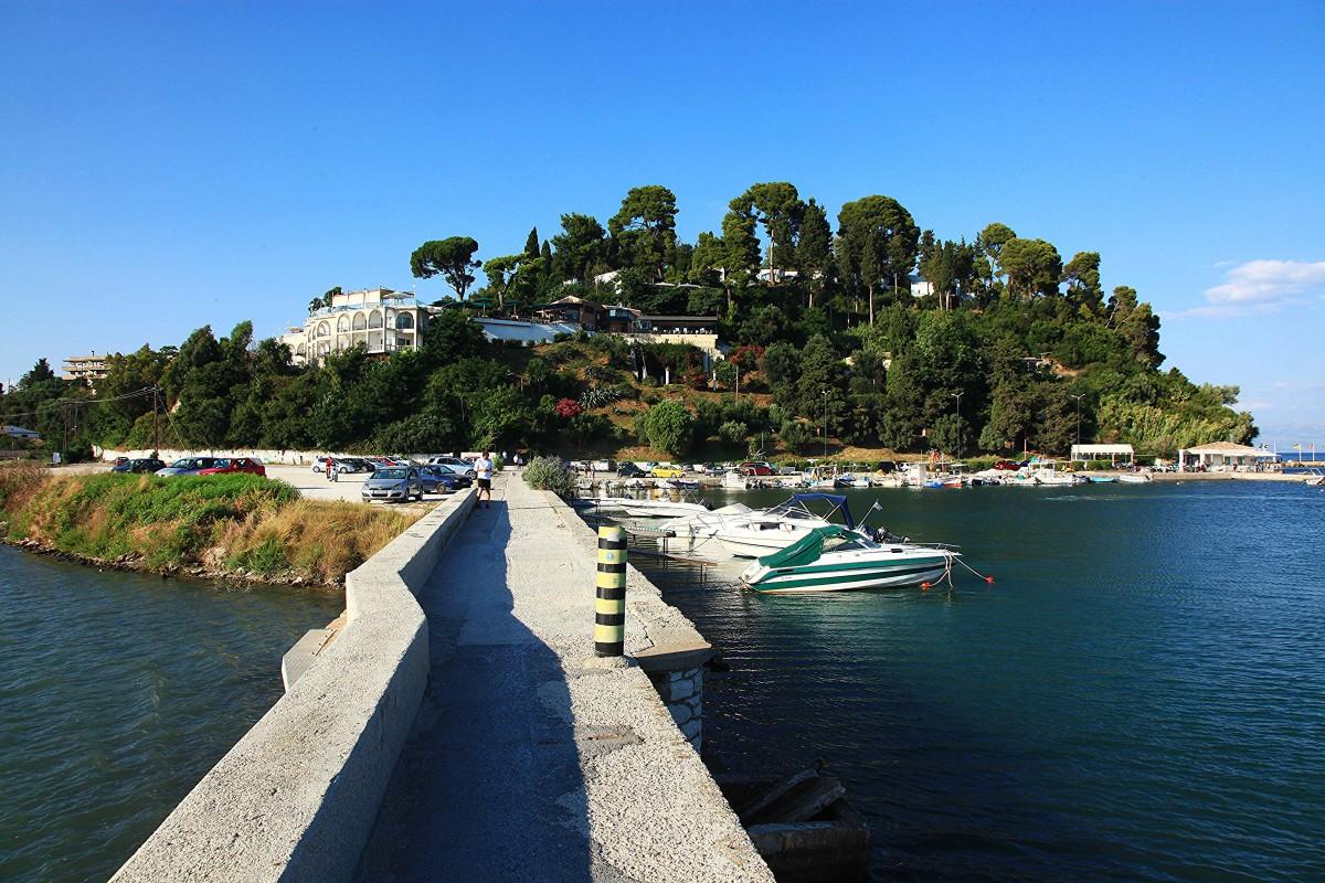 Zdjęcia: Zatoka Kanoni, Korfu, Grobla, GRECJA