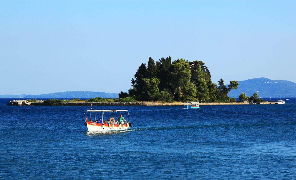 Zdjęcia: Zatoka Kanoni, Korfu, Żegluga, GRECJA