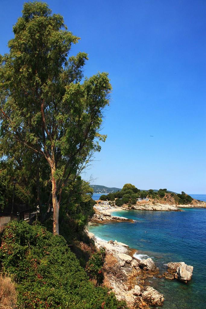 Zdjęcia: Kassiopi, Korfu, Plaża Kanoni, GRECJA