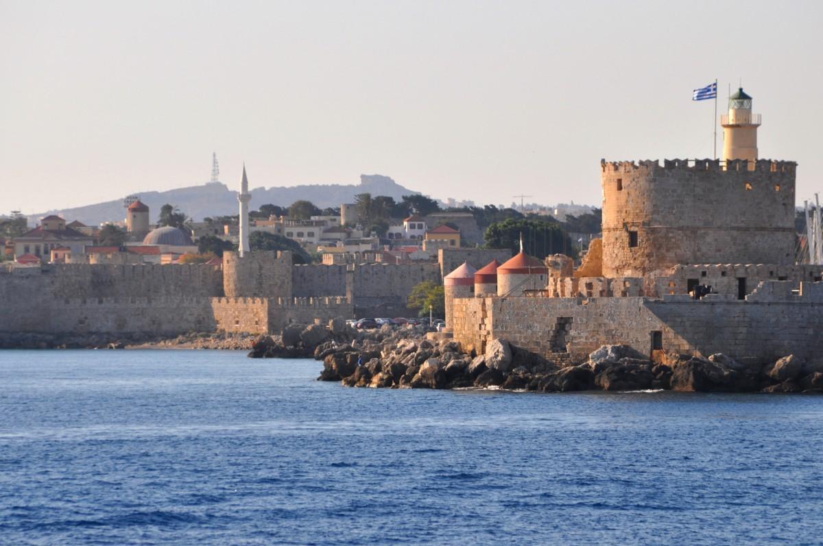 Zdjęcia: Rodos, Dodekanez, Widok na Rodos, GRECJA