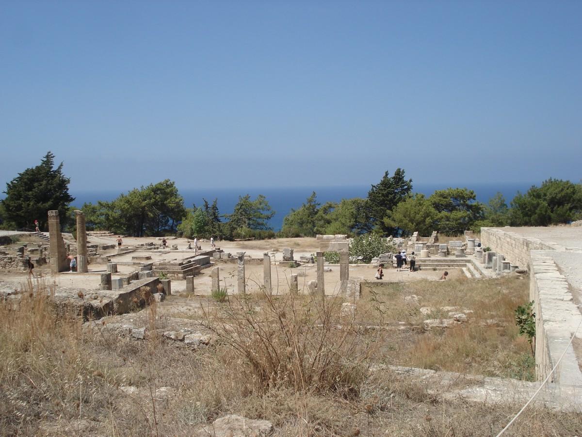 Zdjęcia: starożytne Kamiros, Rodos, Z serii: urlop na Rodos., GRECJA