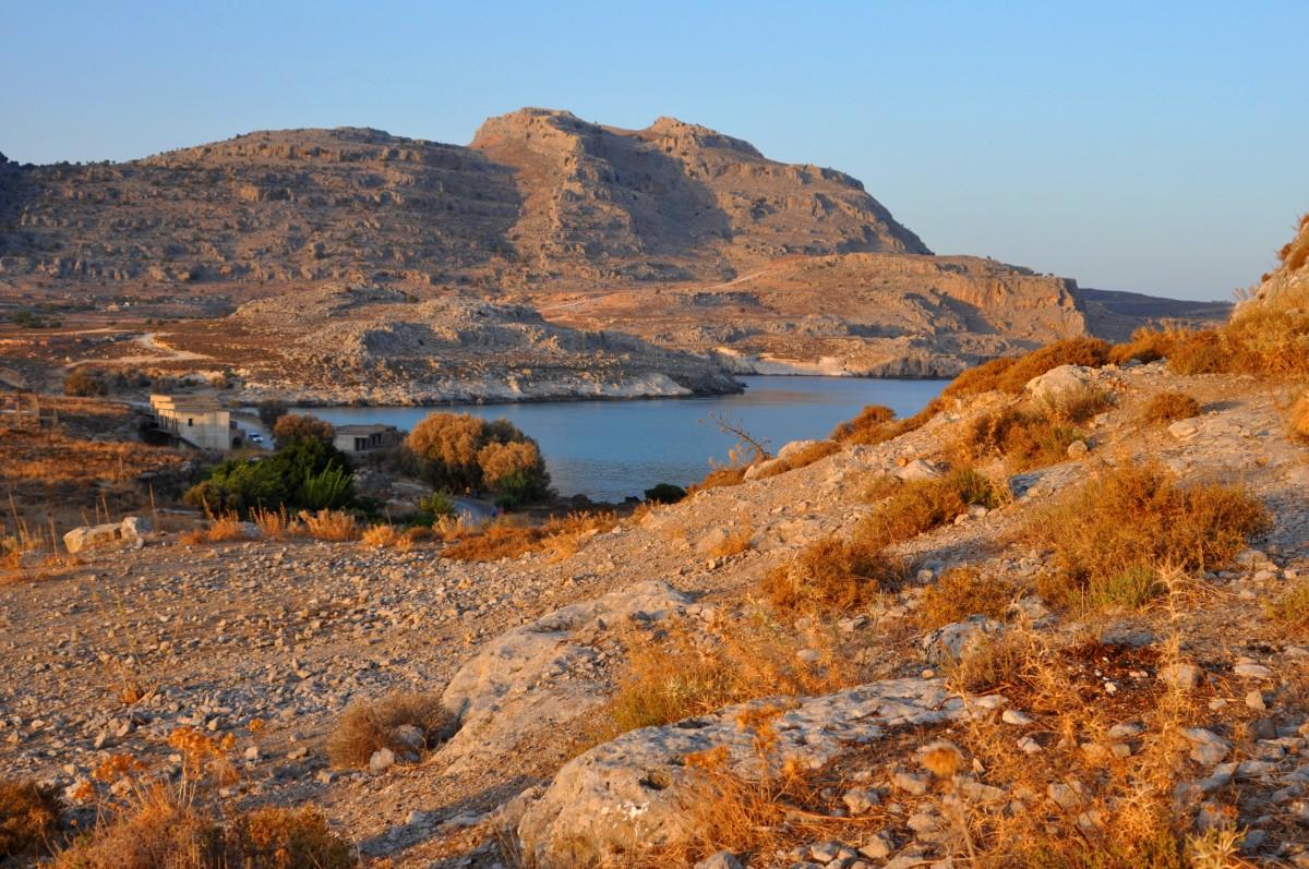 Zdjęcia: Rodos, Dodekanez, Wieczorem, GRECJA