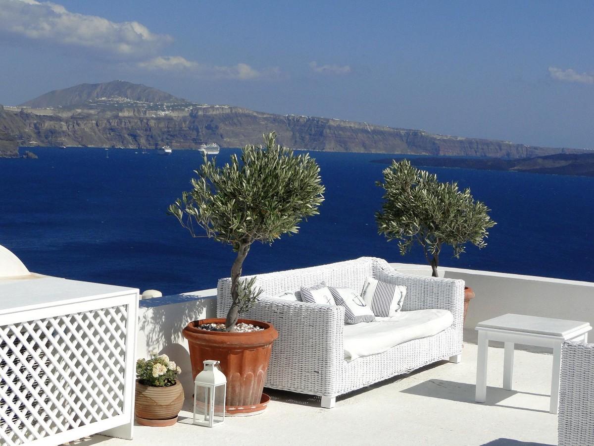 Zdjęcia: Oia, Santorini, Tylko usiąść i patrzeć..., GRECJA