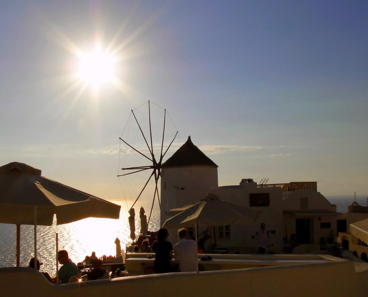 Zdjęcia: Oia, Santorini, Santoryński zmierzch., GRECJA