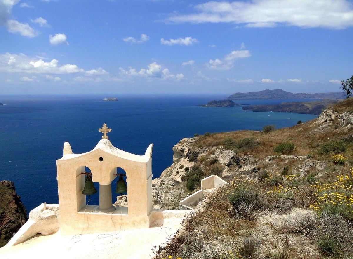 Zdjęcia: okolice Megalohori, Santorini, Wspomnienie z Santorini., GRECJA