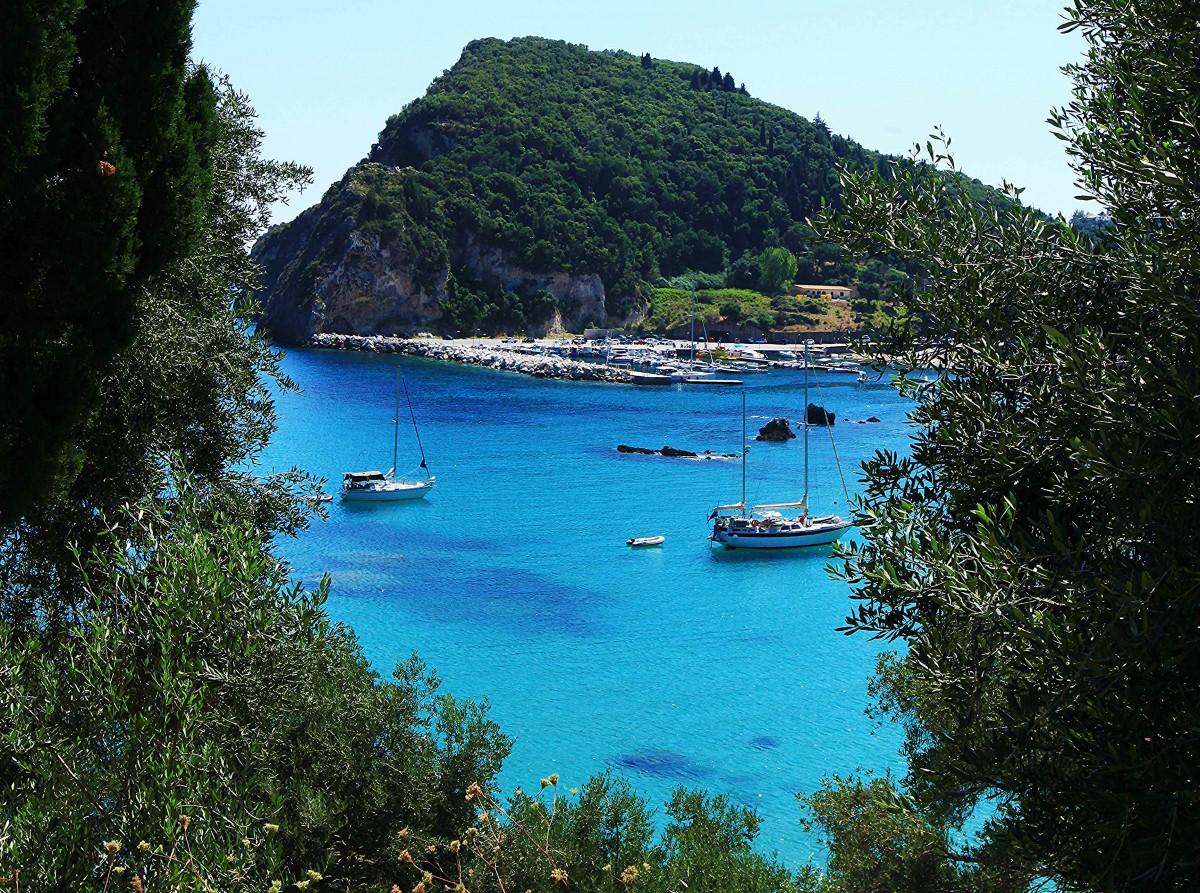 Zdjęcia: Paleokastritsa, Korfu, Szmaragdowa zatoka, GRECJA