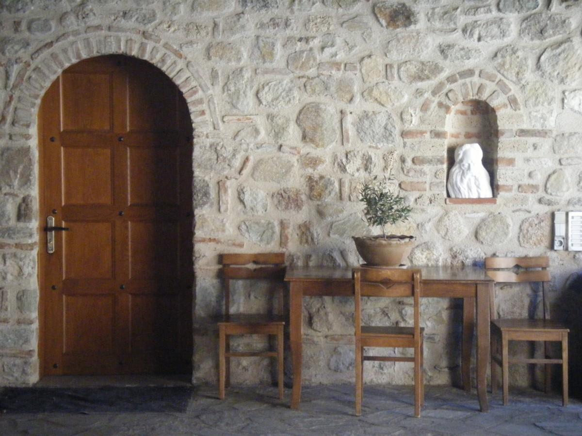 Zdjęcia: Meteory, Tesalia, Klasztor, GRECJA