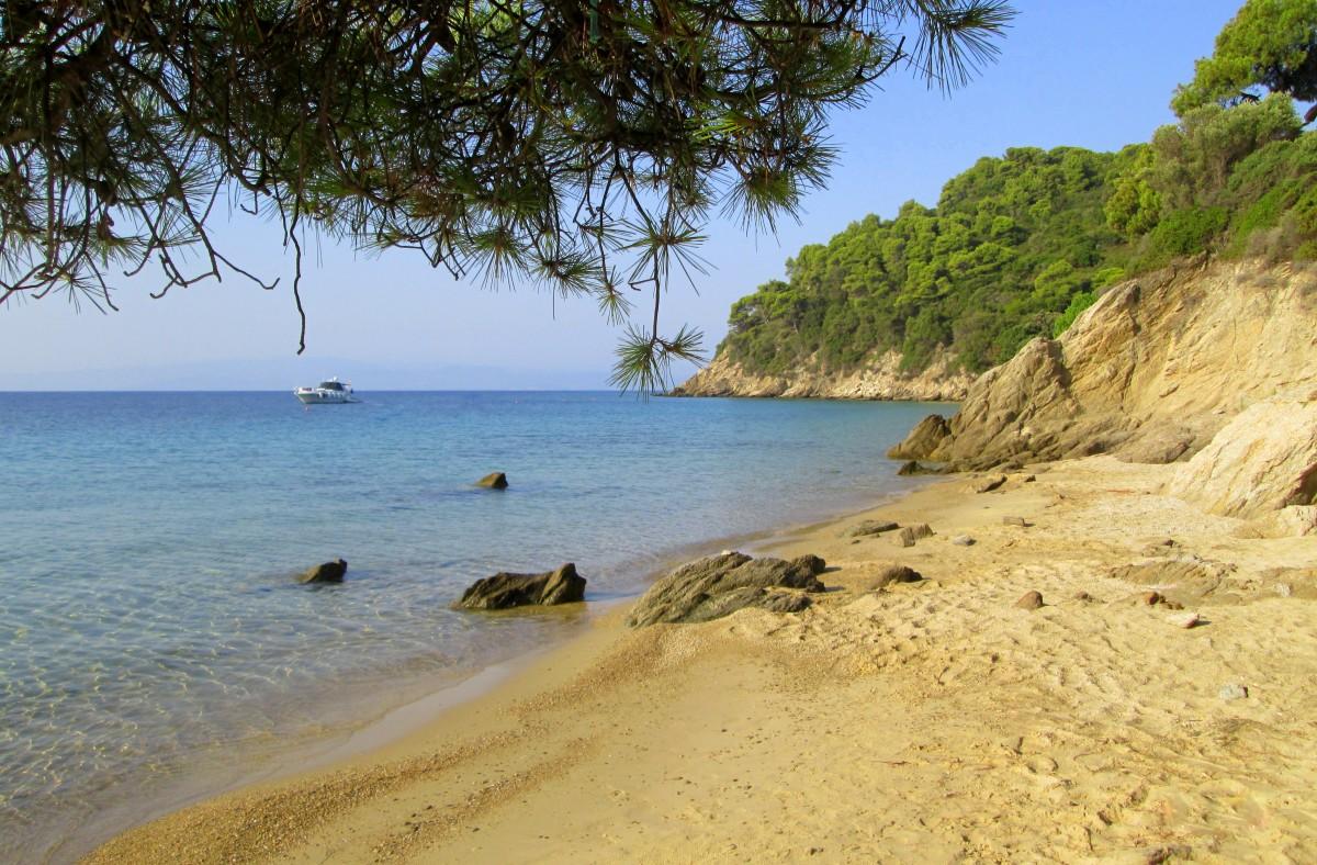 Zdjęcia:  Kukunaries, Skiathos, ~Moja ukochana zatoczka, GRECJA