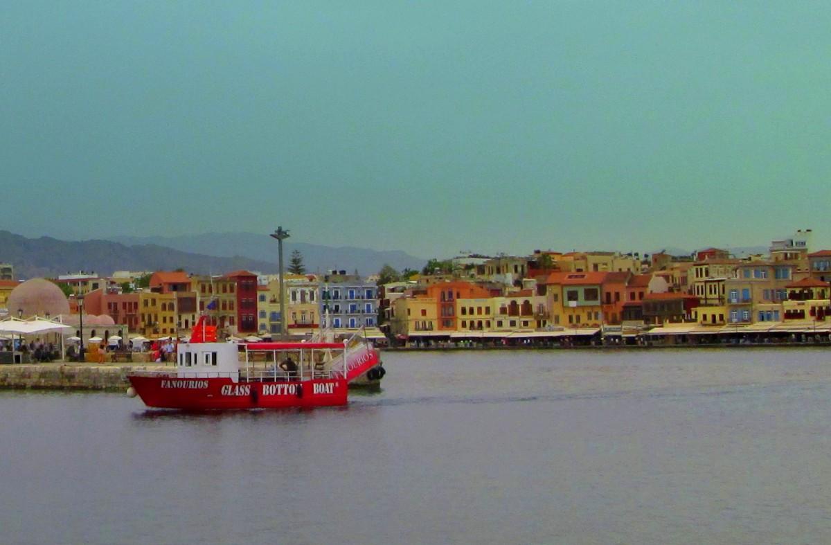 Zdjęcia: Chania, Kreta Zachodnia, Chania w kolorach, GRECJA