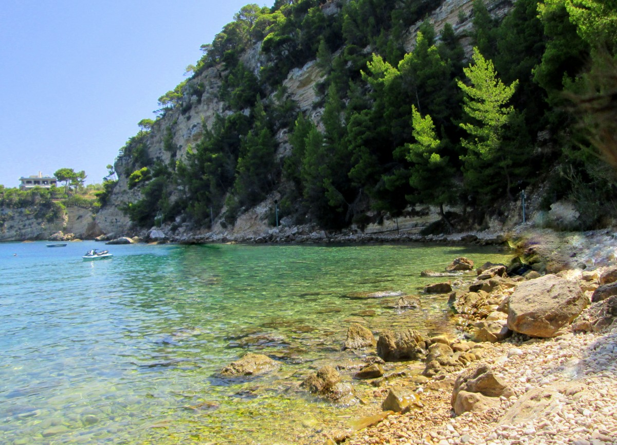 Zdjęcia: Patitiri, Sporady Północne, Szmaragdowa woda Alonissos, GRECJA