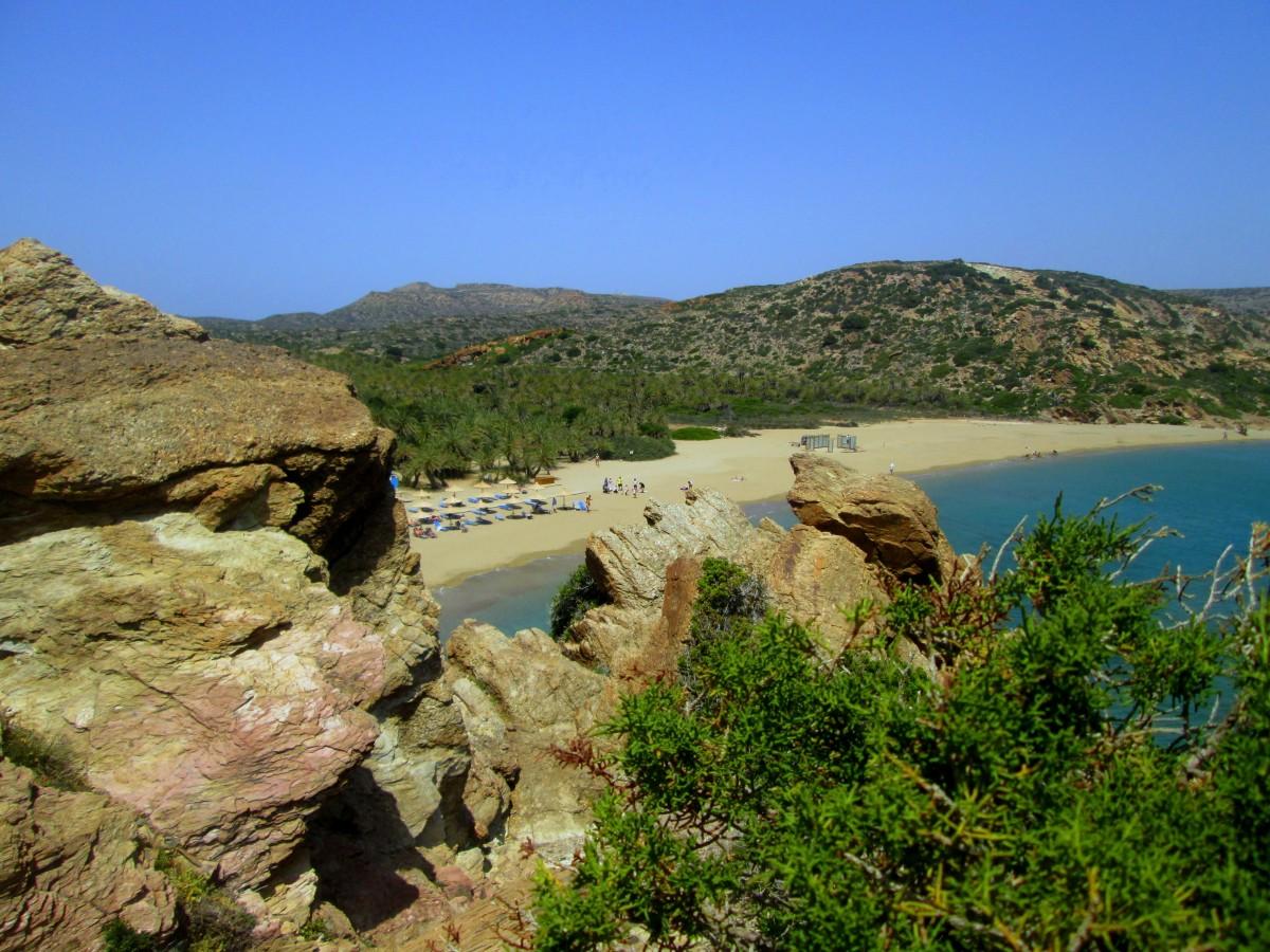 Zdjęcia: Vai, Kreta Wschodnia, Plaża i to nie dzika, GRECJA
