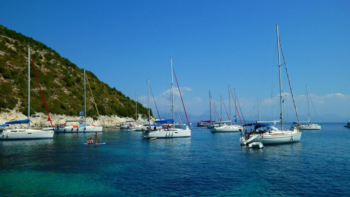 Zdjęcia: Άτοκος,One House Bay, Morze Jońskie, Relaks, GRECJA