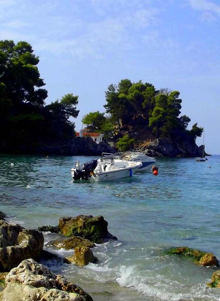 Zdjęcia: Parga, Epir, Z widokiem na wyspę, GRECJA