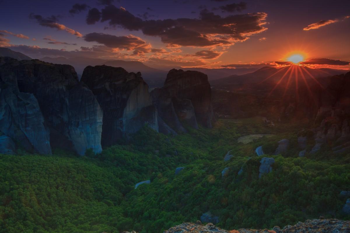 Zdjęcia: Klambaka, Meteory, Meteory, GRECJA