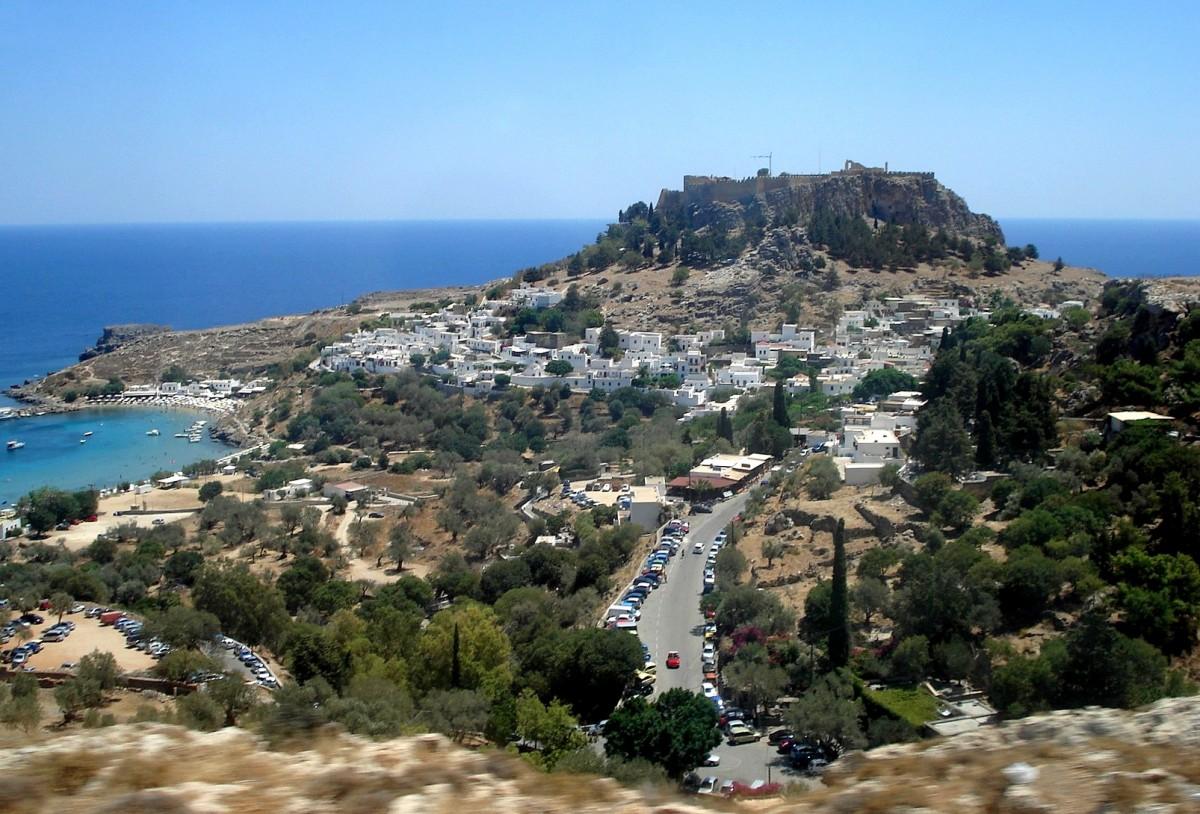 Zdjęcia: Lindos, Dodekanez, Rodos, Greckie wspomnienia - Rodos, GRECJA