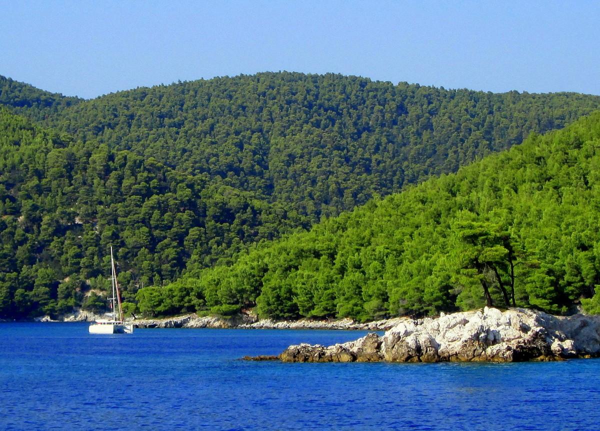 Zdjęcia: Alonissos, Sporady Północne, ^Płynąc na wyspę Alonissos, GRECJA