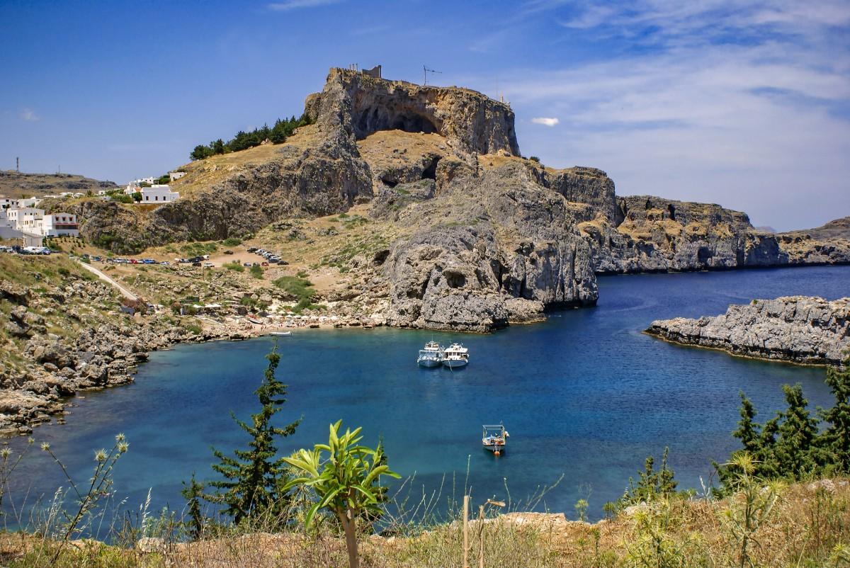 Zdjęcia: Rodos, Dodekanez, zatoka św.Pawła, GRECJA