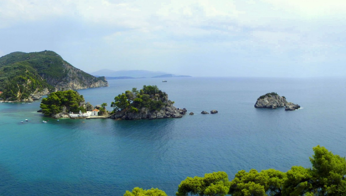 Zdjęcia: Parga, Epir, Z oddali, GRECJA