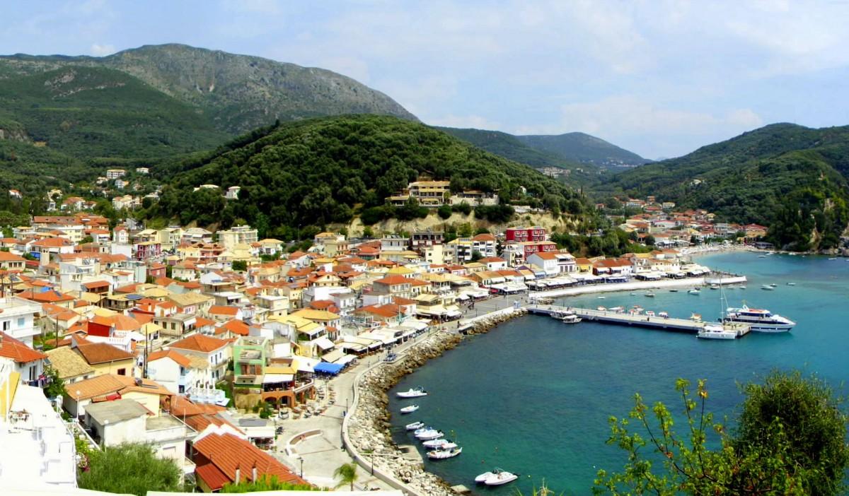 Zdjęcia: Parga, Epir, Przystań w Pardze, GRECJA