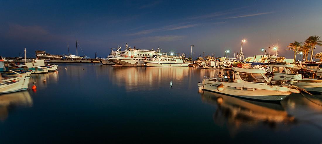Zdjęcia: Kardamena, Dodekanez, port, GRECJA