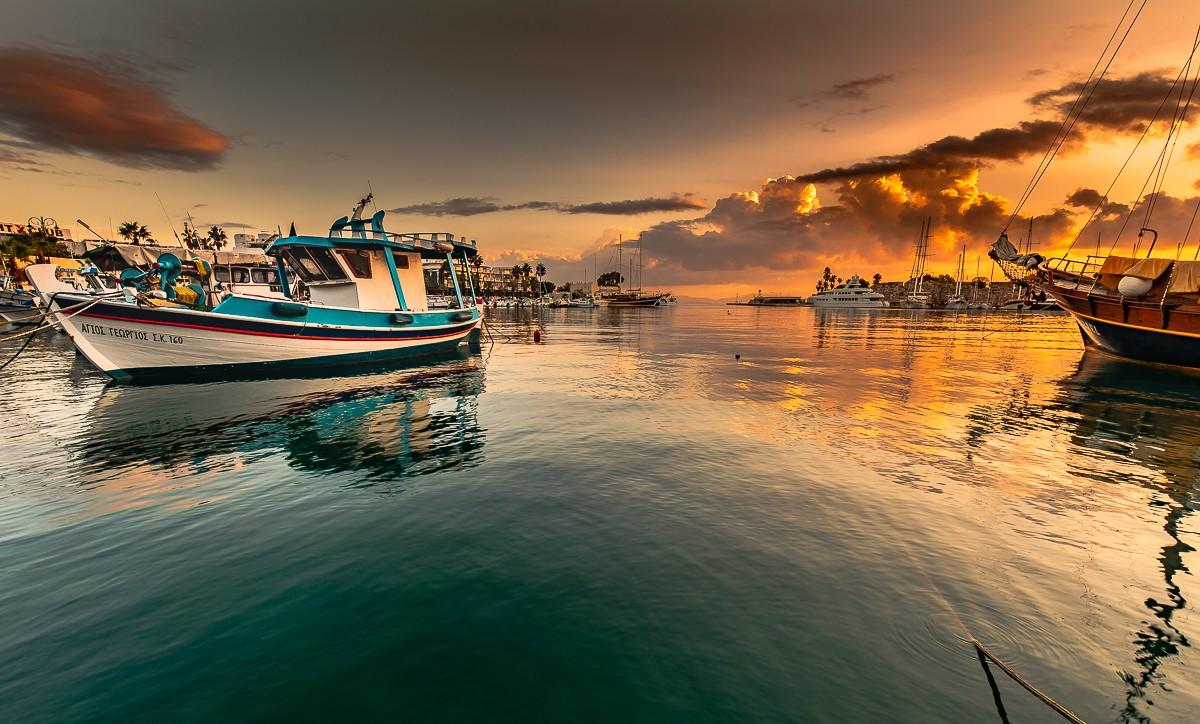 Zdjęcia: Kos, Dodekanez, port, GRECJA
