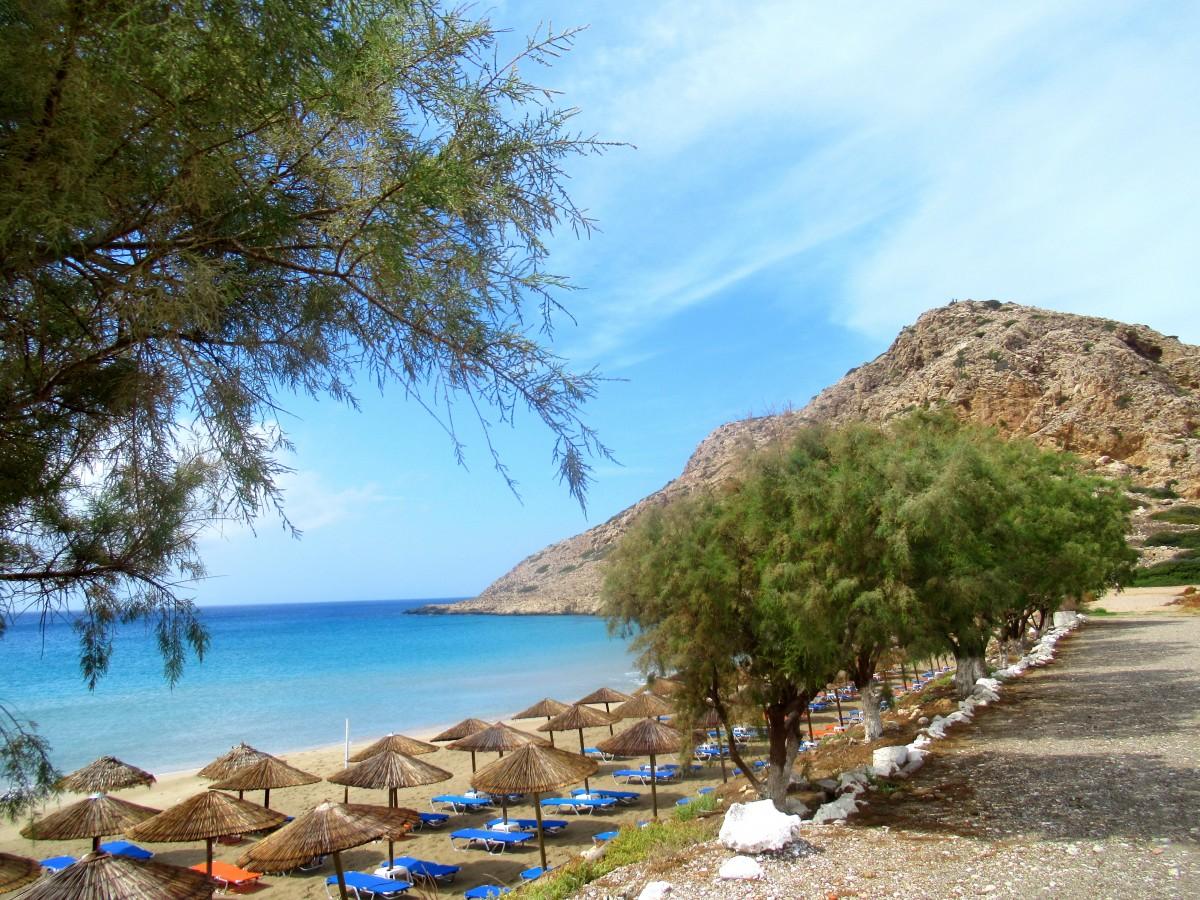 Zdjęcia: Arkasa, Karpathos, Pusta plaża..., GRECJA