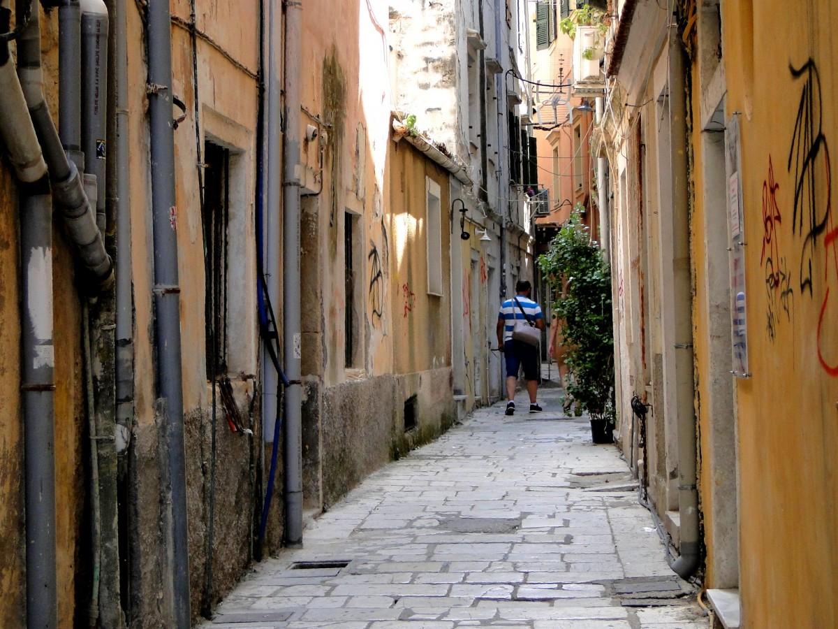 Zdjęcia: Korfu, Wyspy Jońskie, Korfu - klimaty Starego Miasta, GRECJA