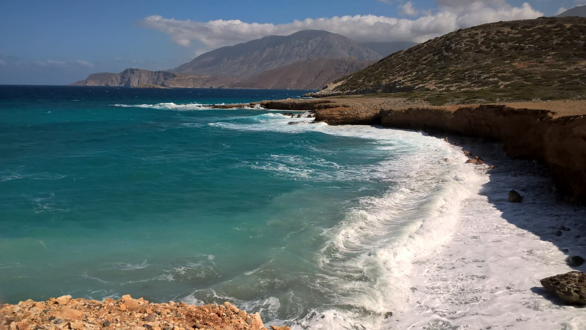 Zdjęcia: Kreta, -Kreta , Z biegiem fal..., GRECJA