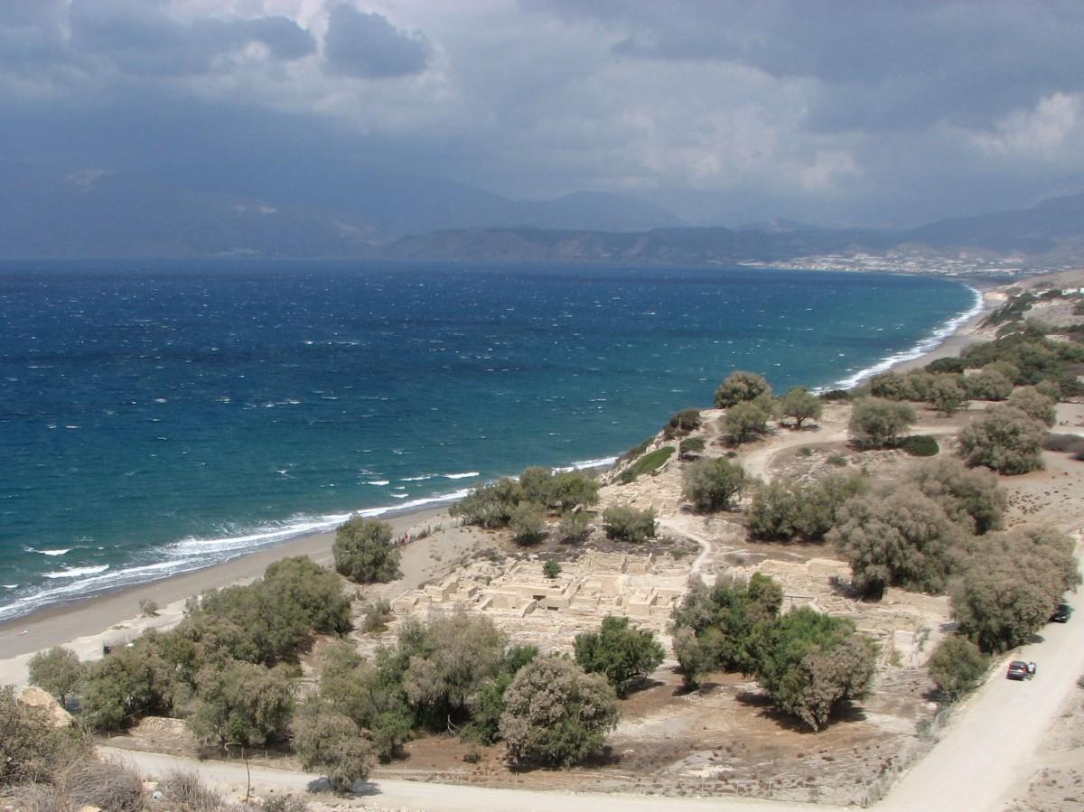 Zdjęcia: nie pamietam, Kreta, wybrzeże, GRECJA