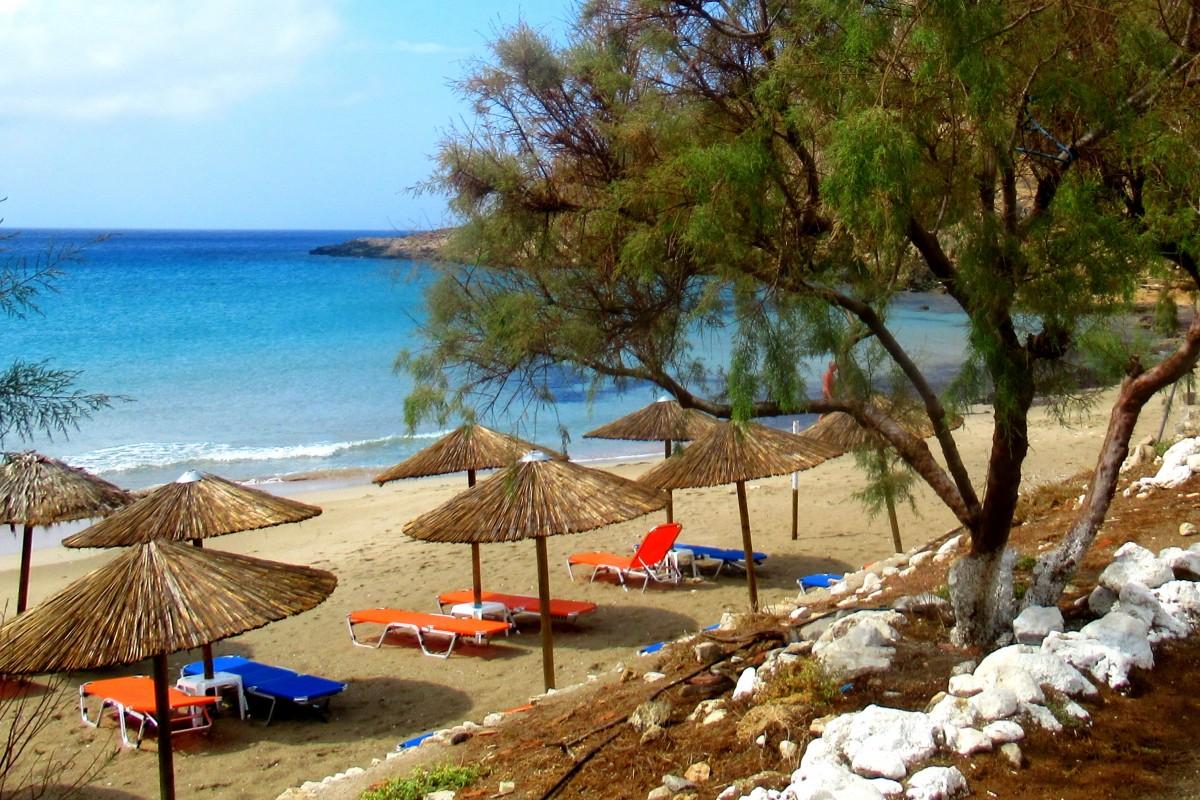 Zdjęcia: Arkasa, Karpathos, Plaża, GRECJA
