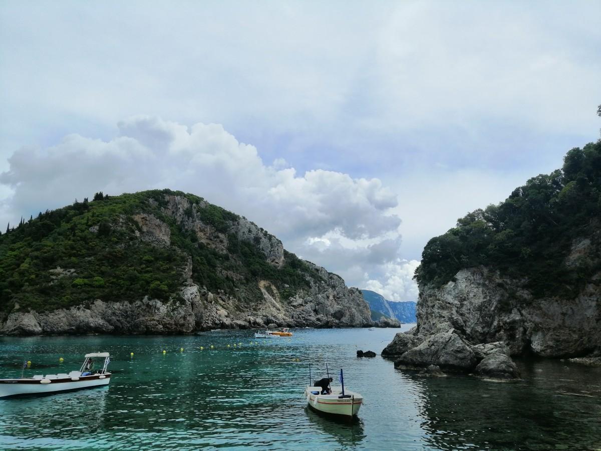 Zdjęcia: Paleokastritsa, Korfu, Zatoka Paleokastritsa 1, GRECJA