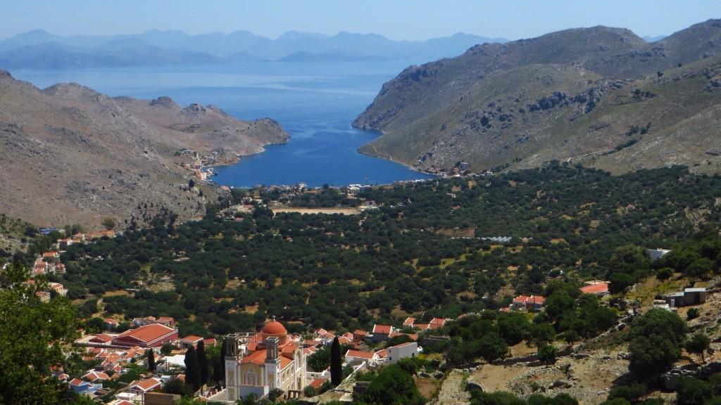 Zdjęcia: Simi, Archipelag Dodekanez, krajobrazy Simi, GRECJA