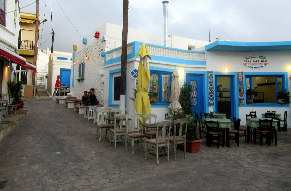 Zdjęcia: Arkasa, Karpathos, W centrum Arkasy, GRECJA