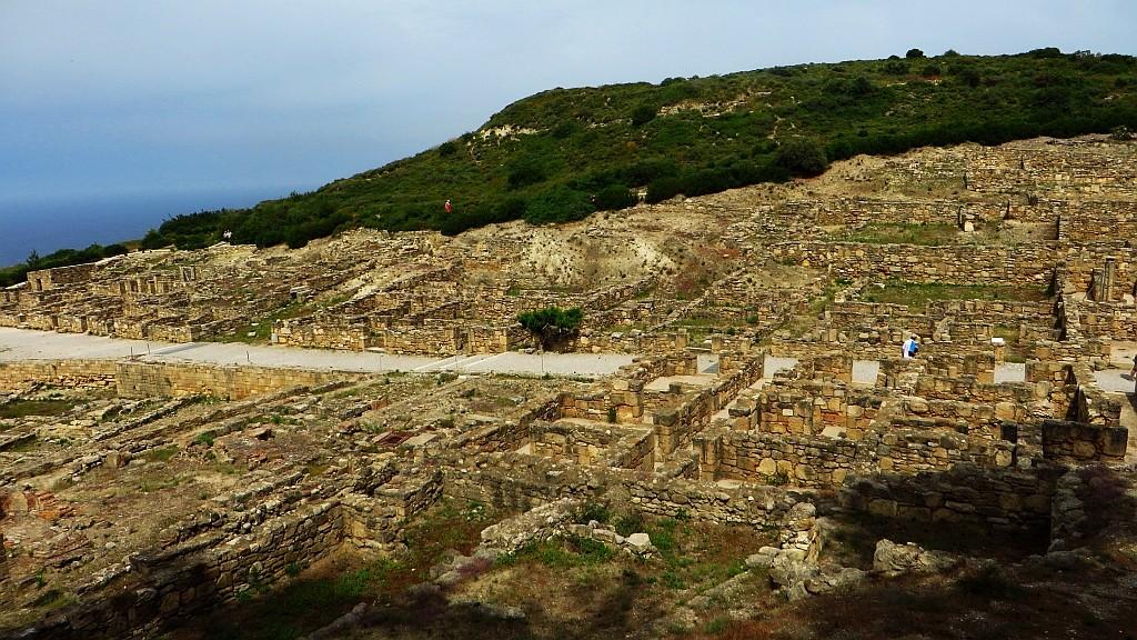 Zdjęcia: Wyspa Rodos, Archipelag Dodekanez, starożytne ruiny Kamiros, GRECJA