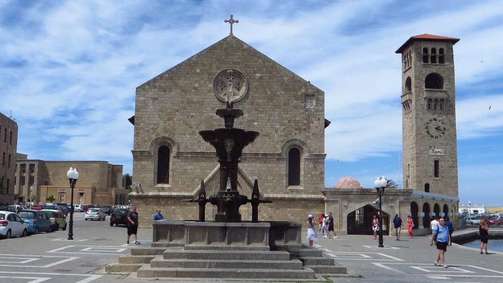 Zdjęcia: Wyspa Rodos - Rodos, Archipelag Dodekanez, katedra, GRECJA