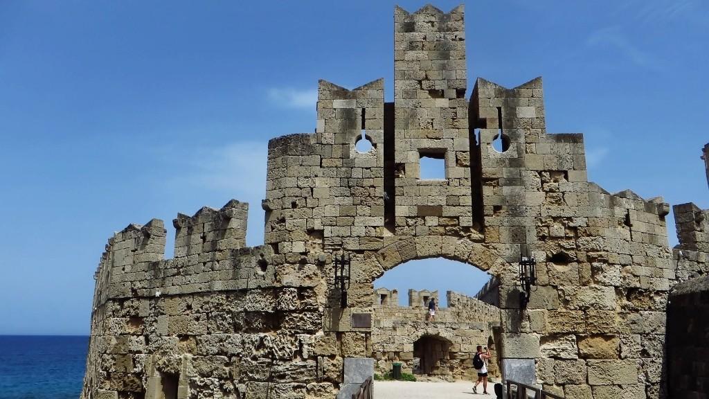 Zdjęcia: Wyspa Rodos - Rodos, Archipelag Dodekanez, brama św. Pawła, GRECJA