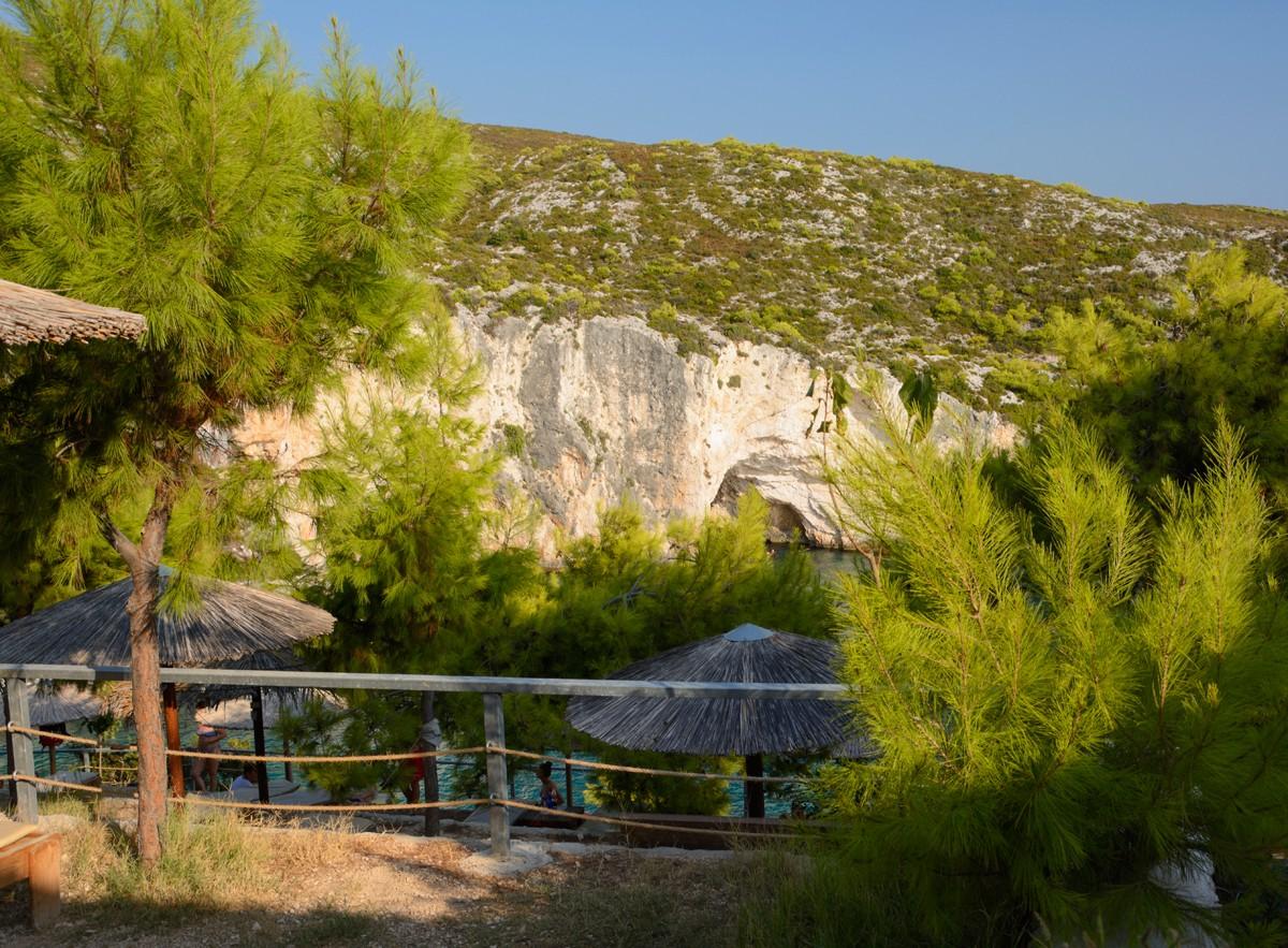 Zdjęcia: Zakynthos, Wyspy Jońskie, w Porto Limnionas, GRECJA
