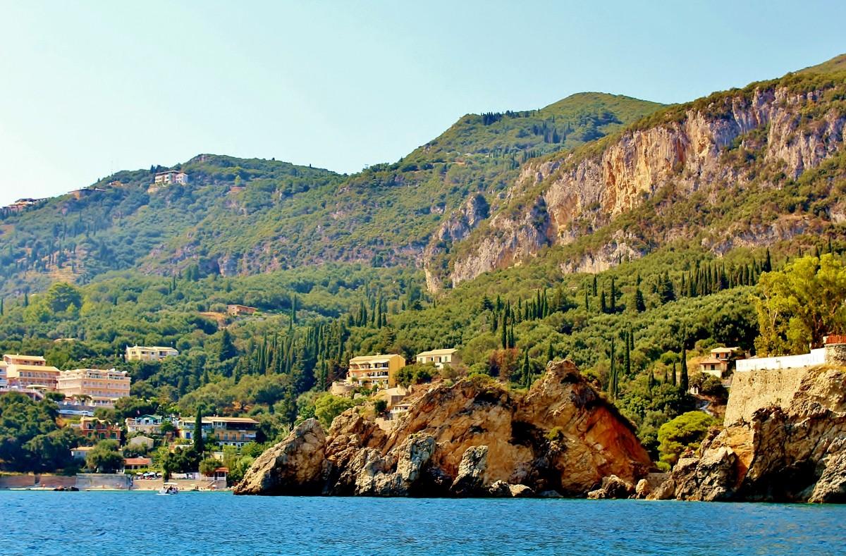 Zdjęcia: Paleokastritsa, Korfu, Zatoka Paleokastritsa, GRECJA