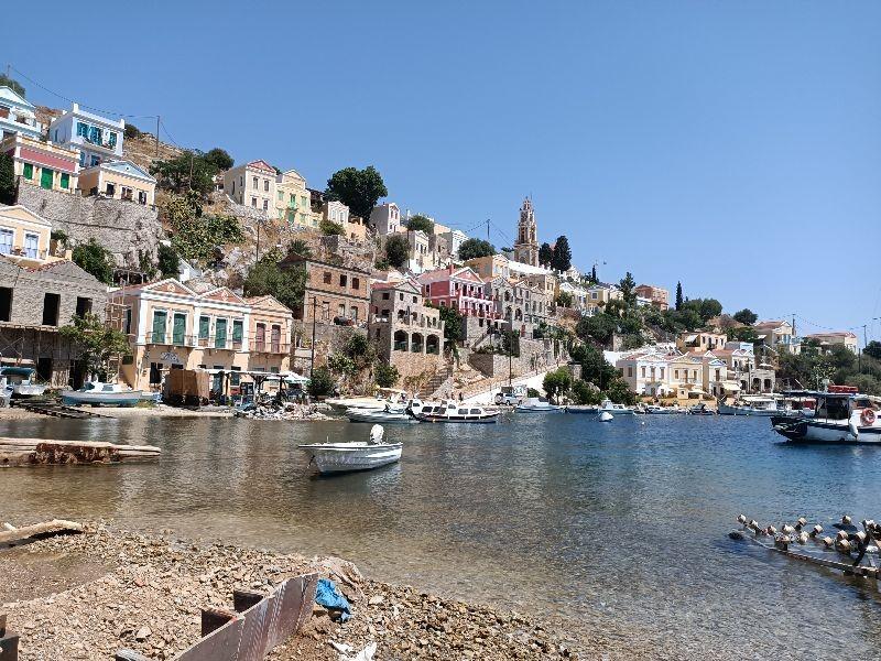 Zdjęcia: Grecka wyspa Simi, blisko Turcji, Wyspa spokoju, GRECJA