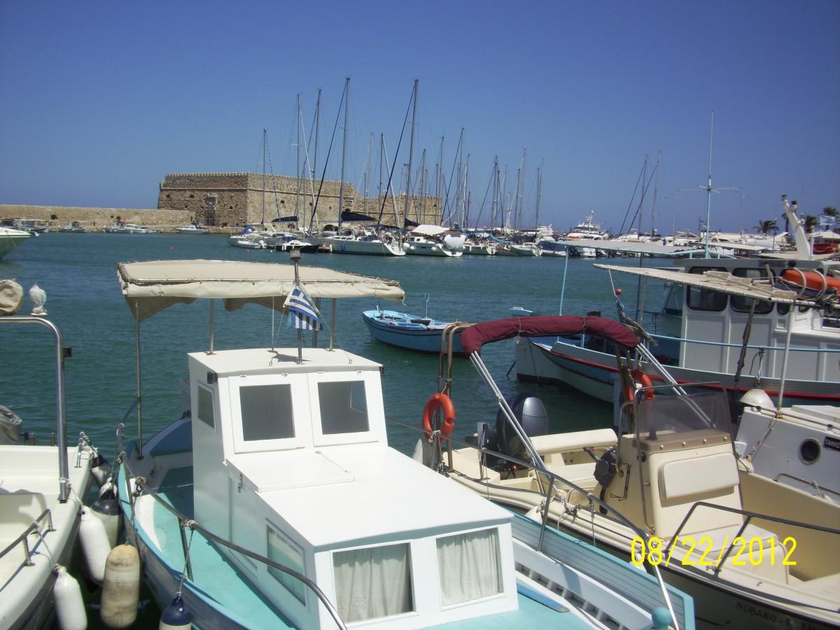 Zdjęcia: Heraklion, Kreta, Heraklion-port, GRECJA